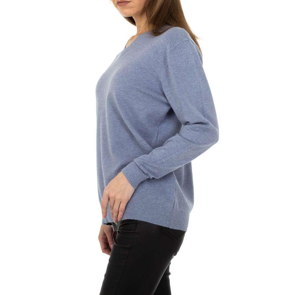 Pulover pentru femei de la Metrofive - albastru - image 2