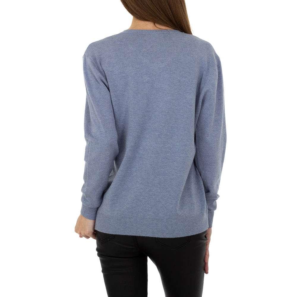 Pulover pentru femei de la Metrofive - albastru - image 3