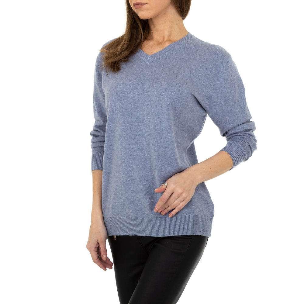 Pulover pentru femei de la Metrofive - albastru - image 4