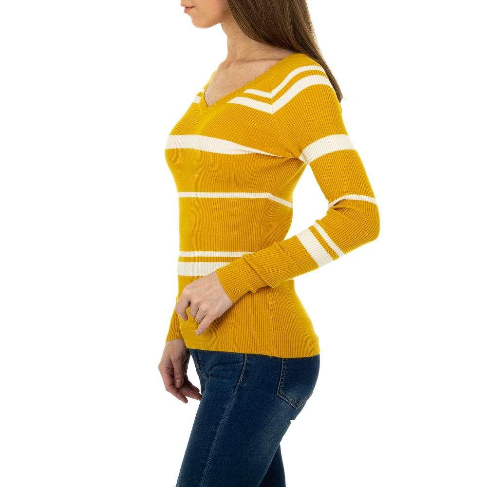 Pulover pentru femei de la Metrofive - galben - image 2