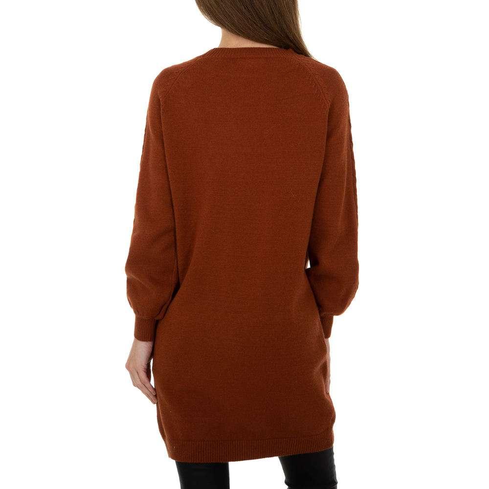Pulover pentru femei de la Metrofive - maro - image 3