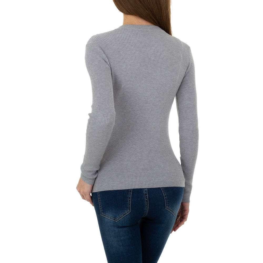 Pulover pentru femei de la Metrofive - gri - image 3