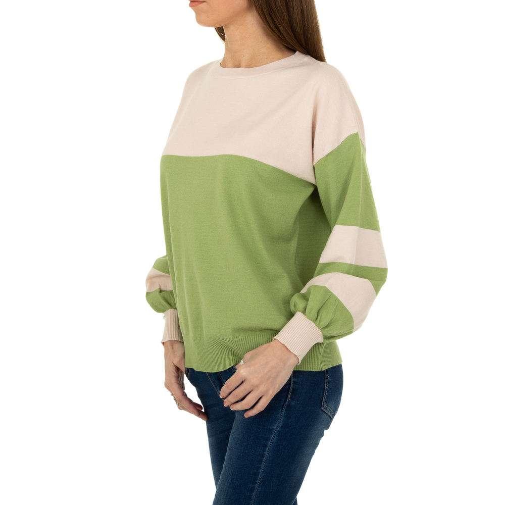 Pulover pentru femei de la Metrofive - verde - image 2