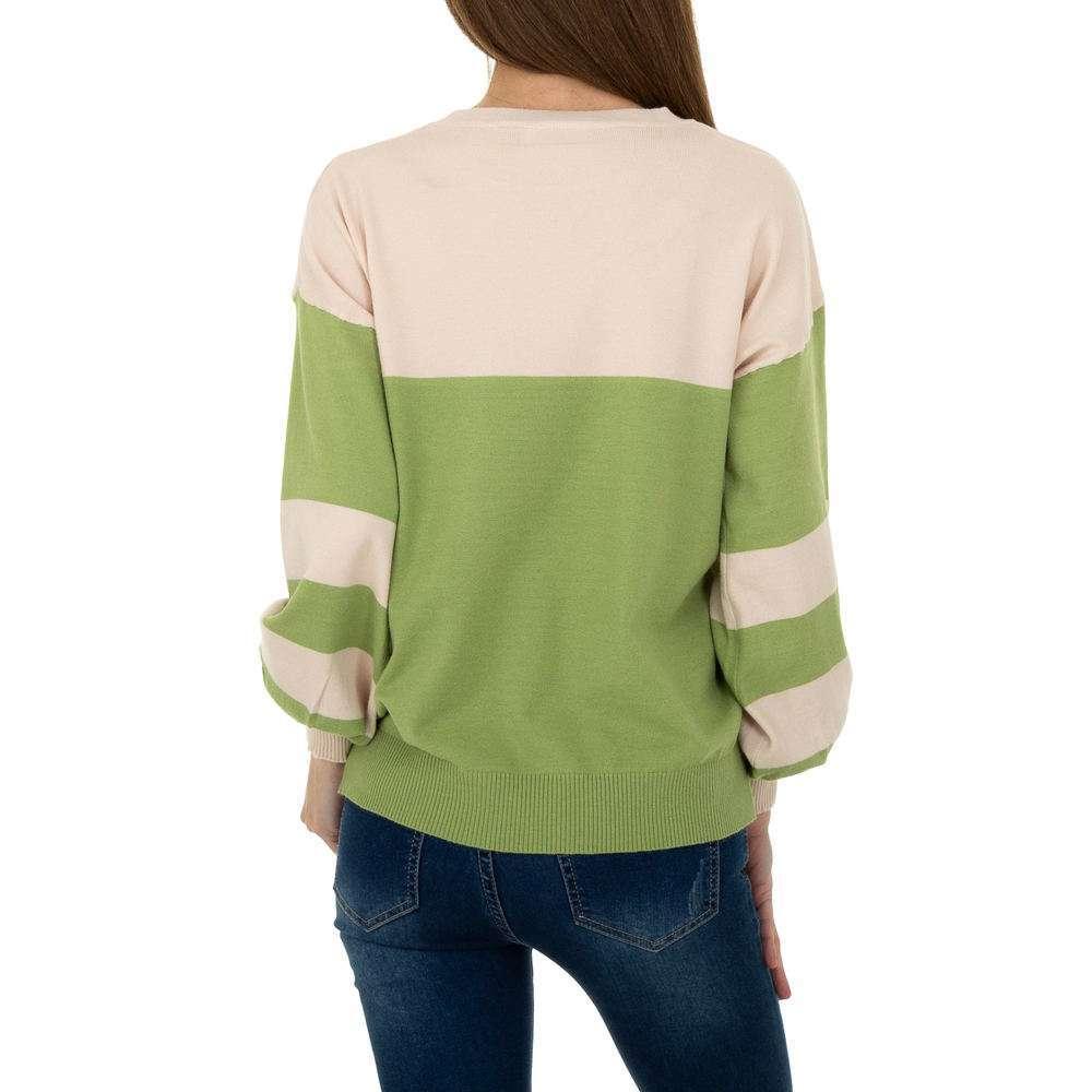 Pulover pentru femei de la Metrofive - verde - image 3