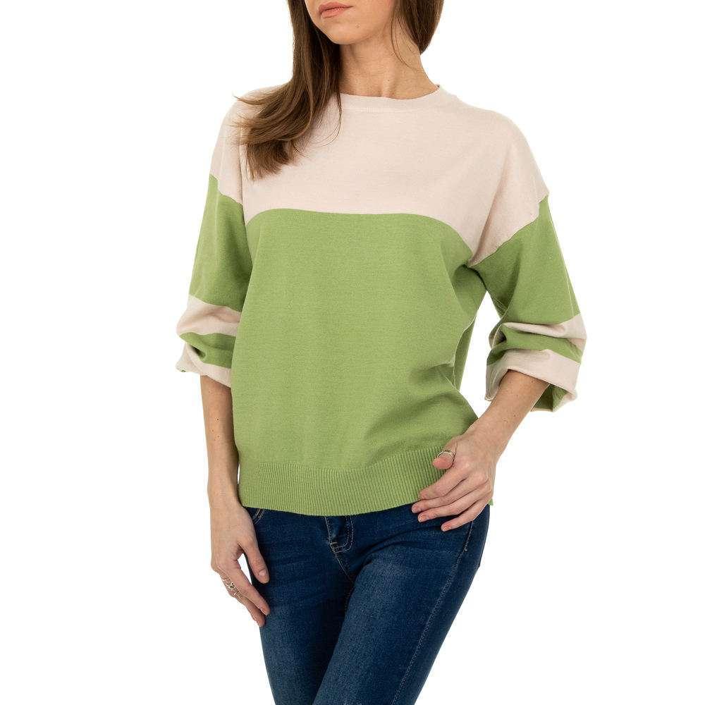Pulover pentru femei de la Metrofive - verde - image 4