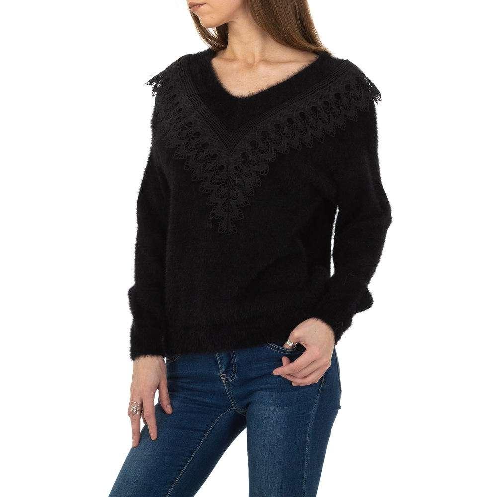 Pulover pentru femei de la Queens Collestion Gr. O singură mărime - negru