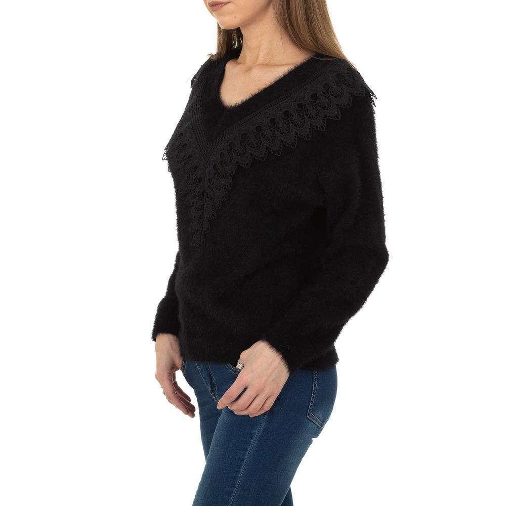 Pulover pentru femei de la Queens Collestion Gr. O singură mărime - negru - image 2