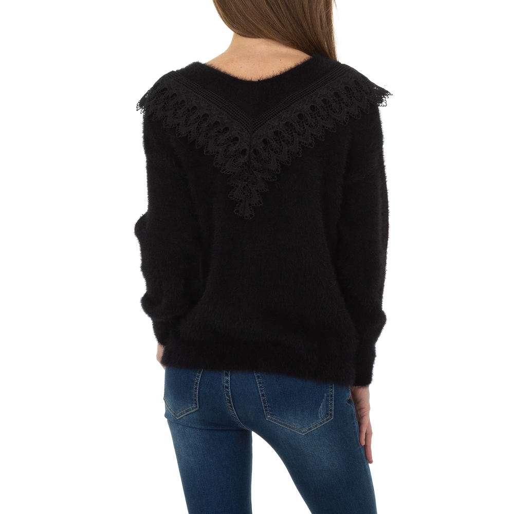 Pulover pentru femei de la Queens Collestion Gr. O singură mărime - negru - image 3