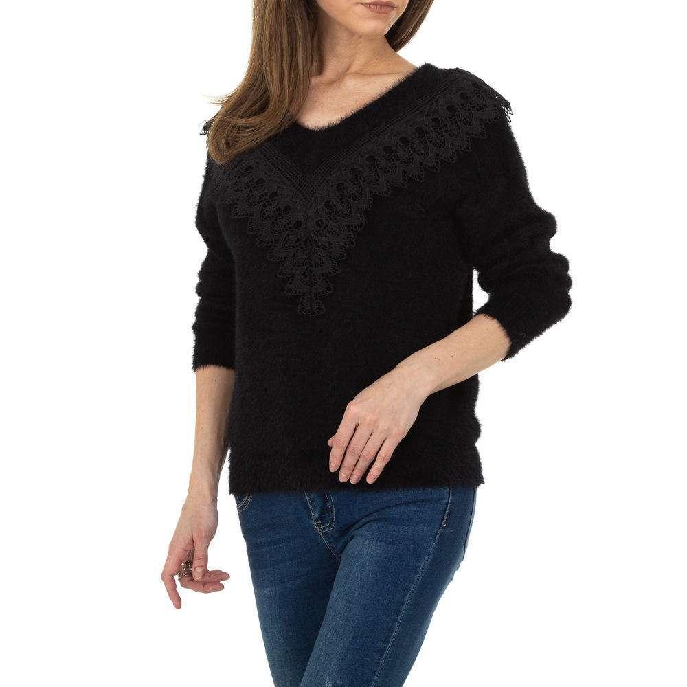 Pulover pentru femei de la Queens Collestion Gr. O singură mărime - negru - image 4