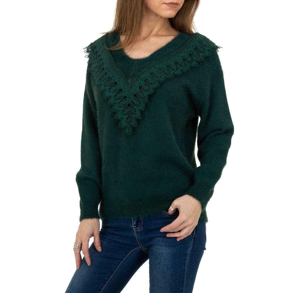Pulover pentru femei de la Queens Collestion Gr. O mărime - verde - image 1