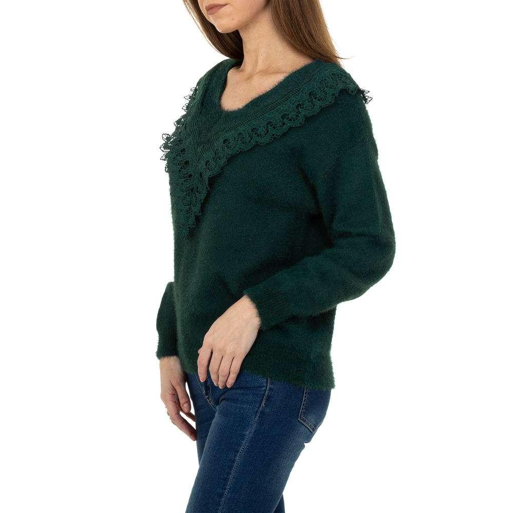Pulover pentru femei de la Queens Collestion Gr. O mărime - verde - image 2