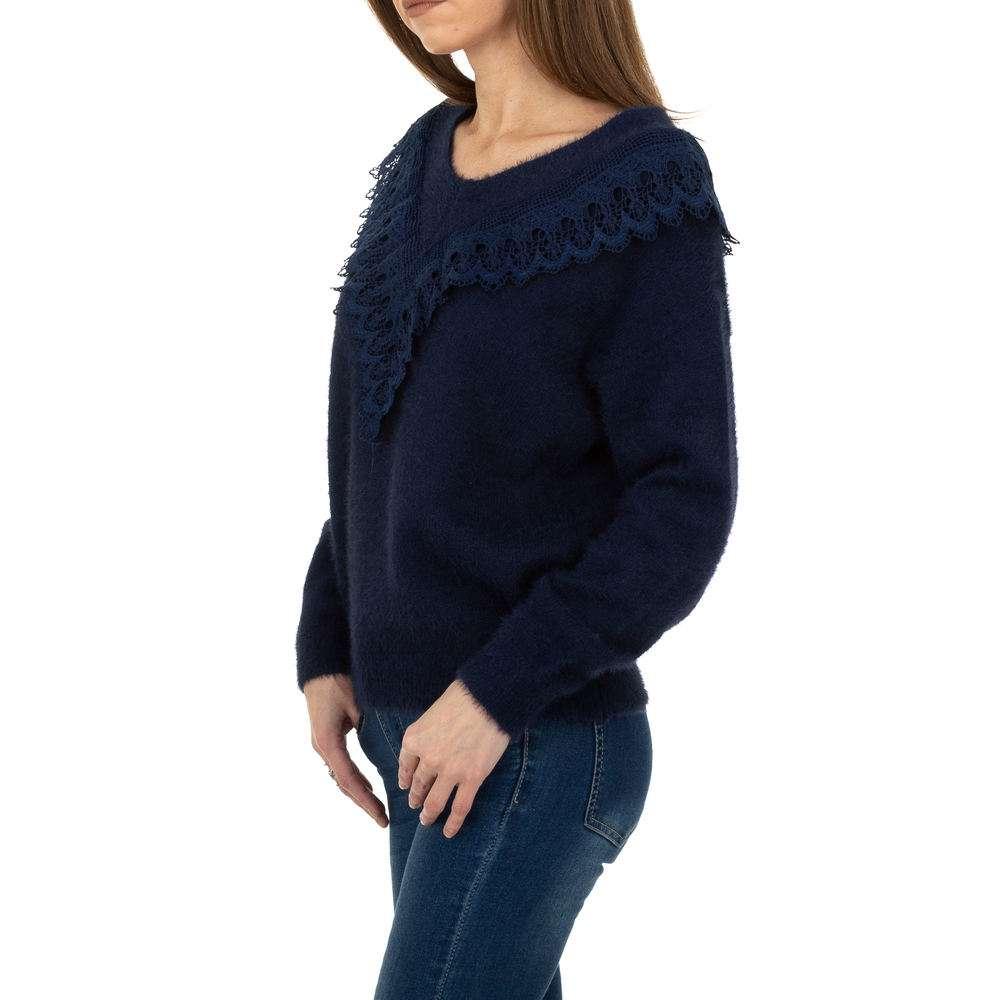 Pulover pentru femei de la Queens Collestion Gr. O singură mărime - bleumarin - image 2