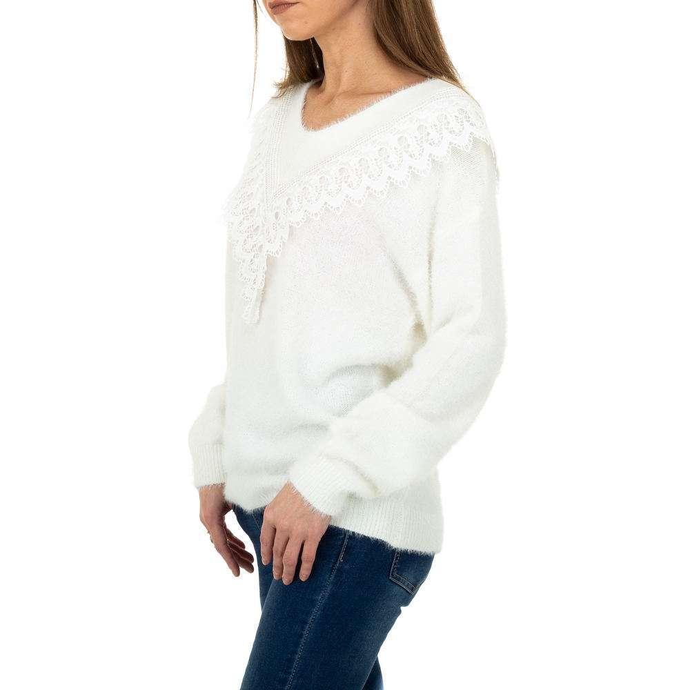 Pulover pentru femei de la Queens Collestion Gr. O singură mărime - alb - image 2