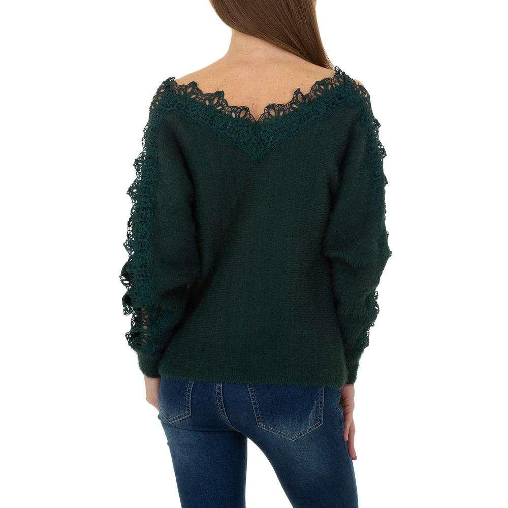 Pulover pentru femei de la Queens Collestion Gr. O mărime - verde - image 3