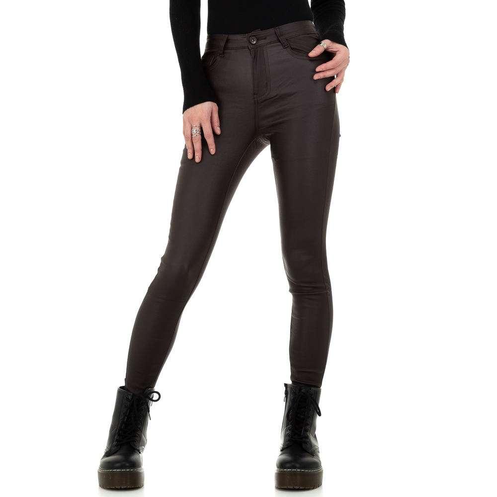 Pantaloni de dama de la Daysie - cafea