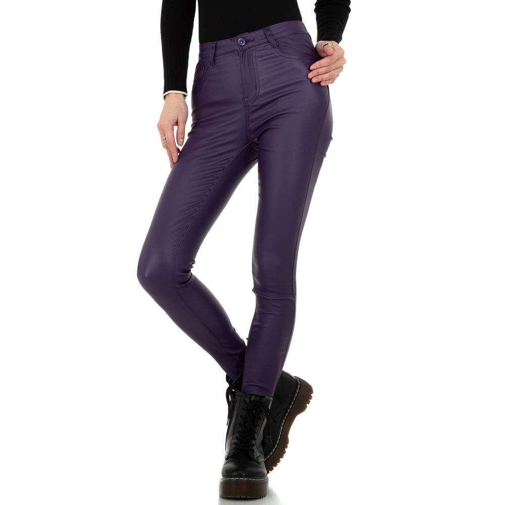 Pantaloni de dama Daysie - mov
