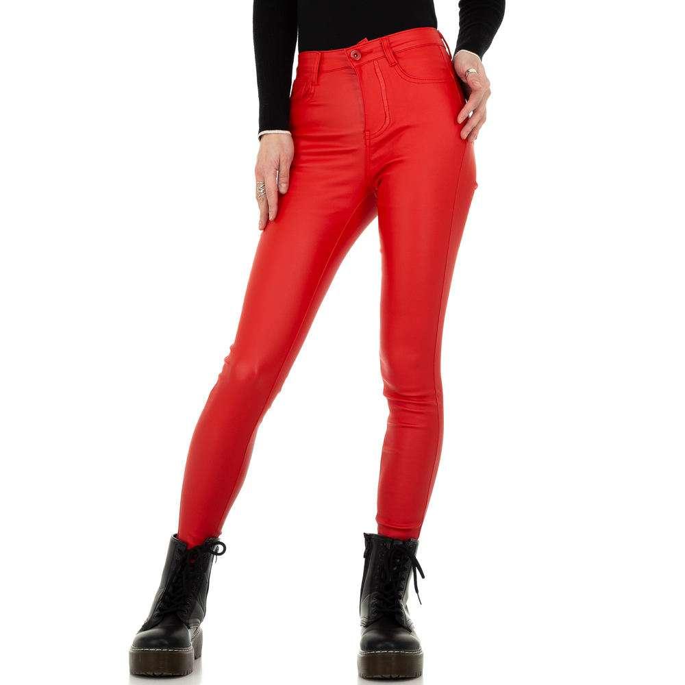 Pantaloni de dama de la Daysie - rosii