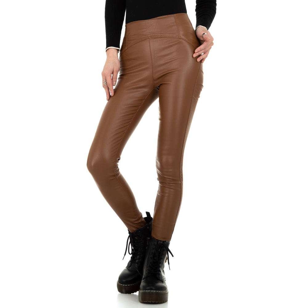 Pantaloni de dama de la Daysie - maro