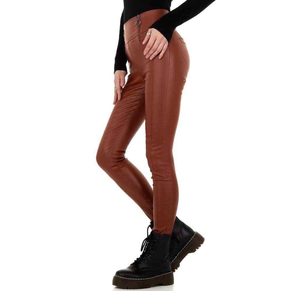Pantaloni de dama de la Daysie - închis orange - image 2
