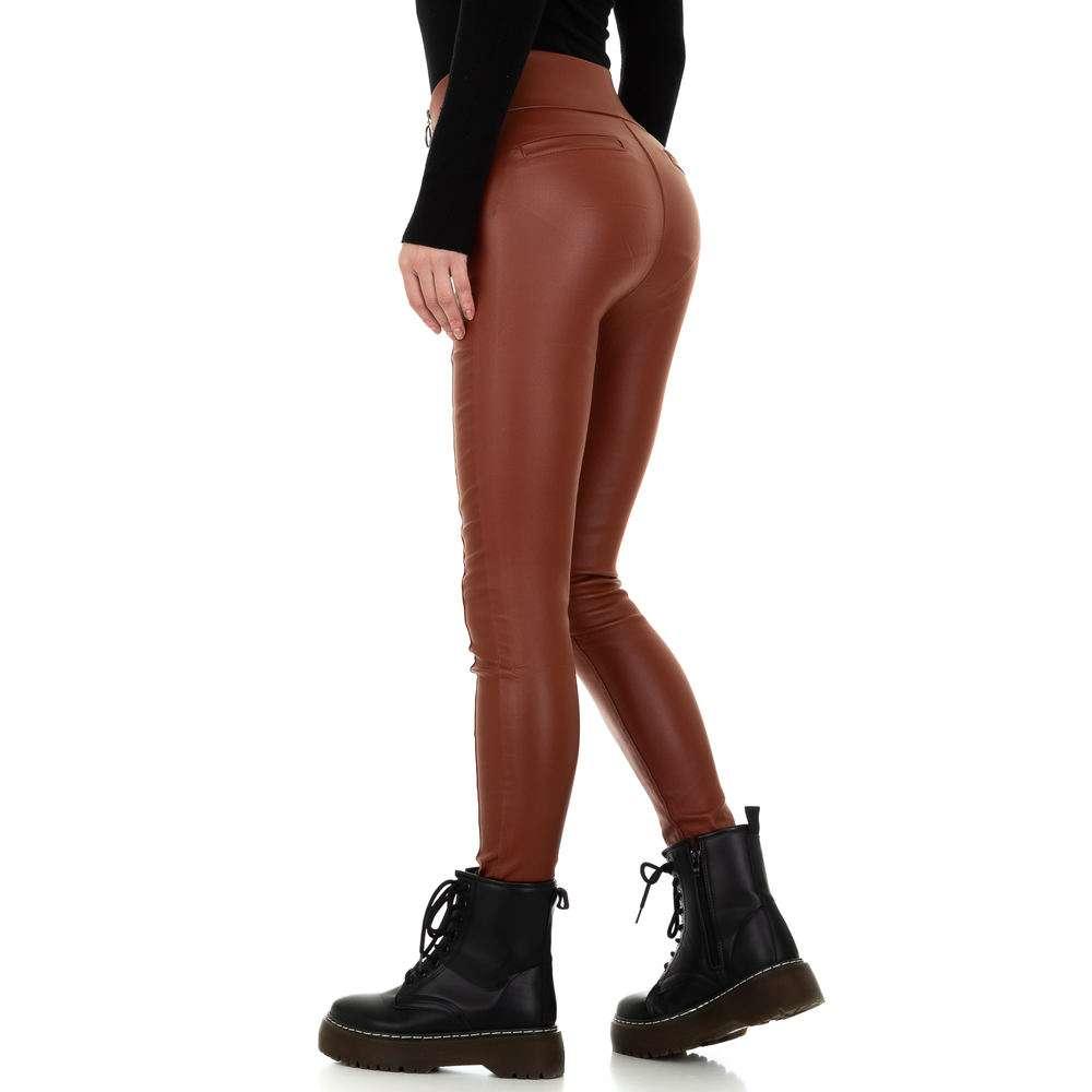 Pantaloni de dama de la Daysie - închis orange - image 3