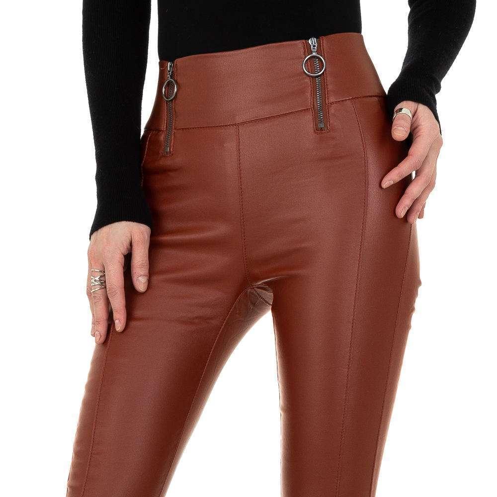 Pantaloni de dama de la Daysie - închis orange - image 4