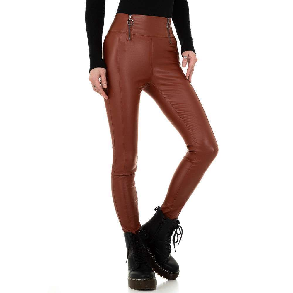 Pantaloni de dama de la Daysie - închis orange - image 5