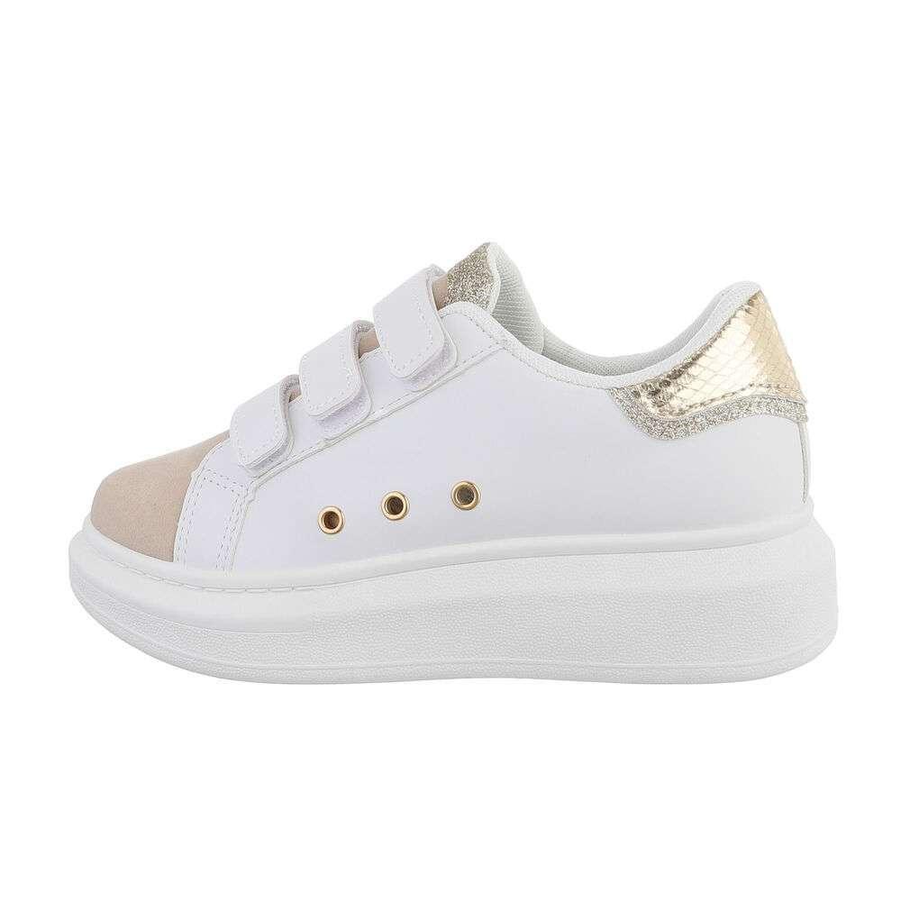 Teniși pentru femei - aur alb - image 1