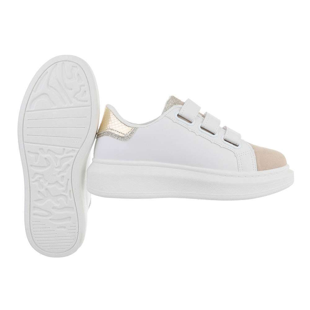 Teniși pentru femei - aur alb - image 2