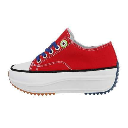 Damen Low-Sneakers - bigred