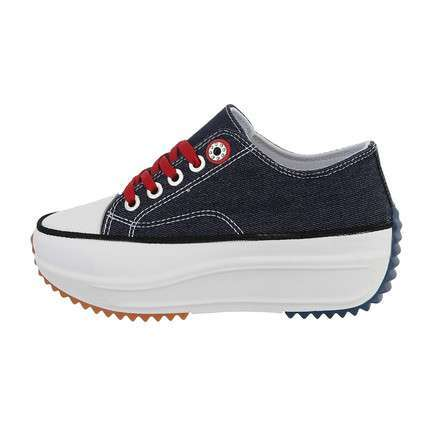 Damen Low-Sneakers - deepblue