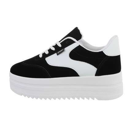 Damen Low-Sneakers - blackwhite