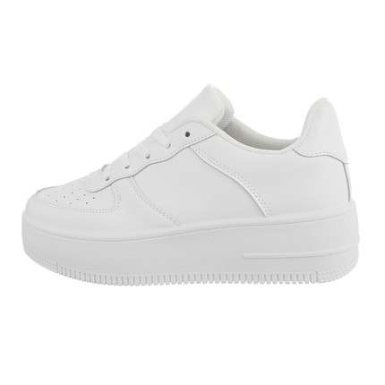 Damen Low-Sneakers - allwhite
