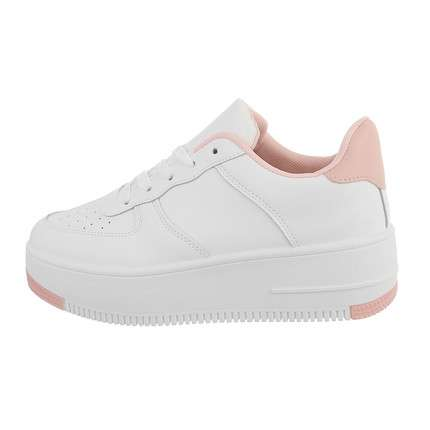 Damen Low-Sneakers - whitepink