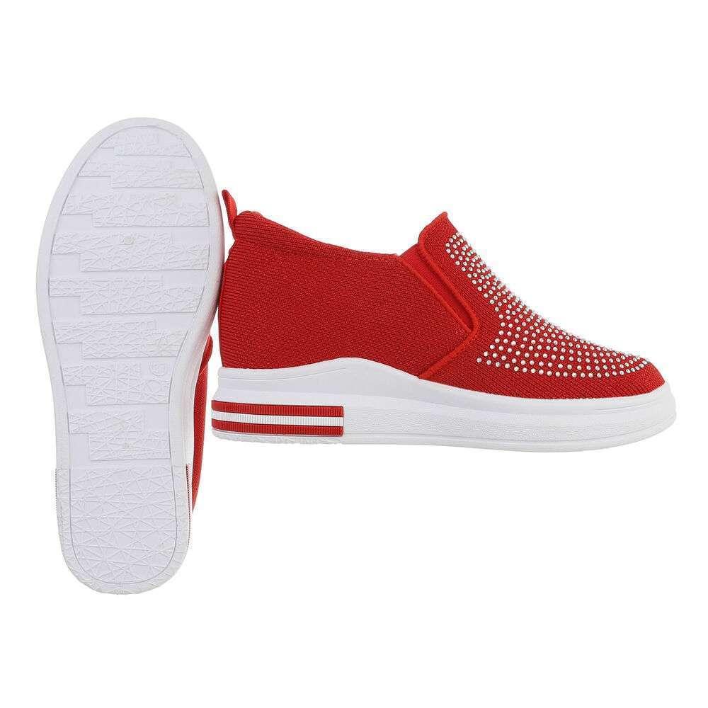Teniși pentru femei - roșii - image 2