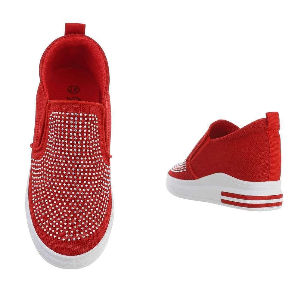 Teniși pentru femei - roșii - image 3