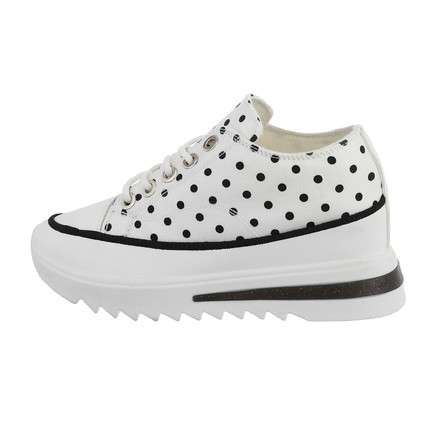 Damen High-Sneakers - whitedot