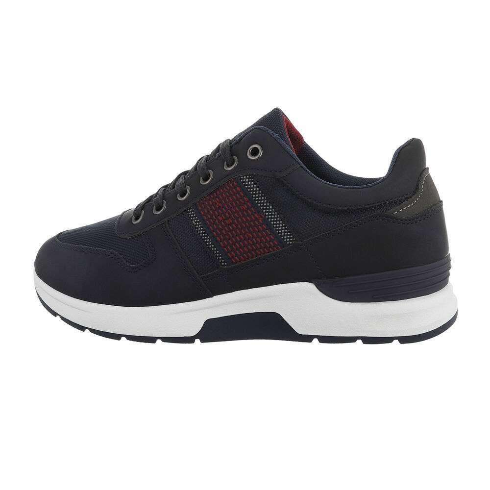 Мужская повседневная обувь - темно-синий
