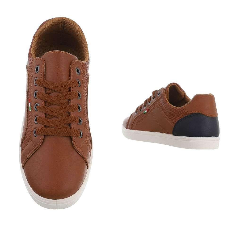 Pantofi casual pentru bărbați - cămilă - image 3