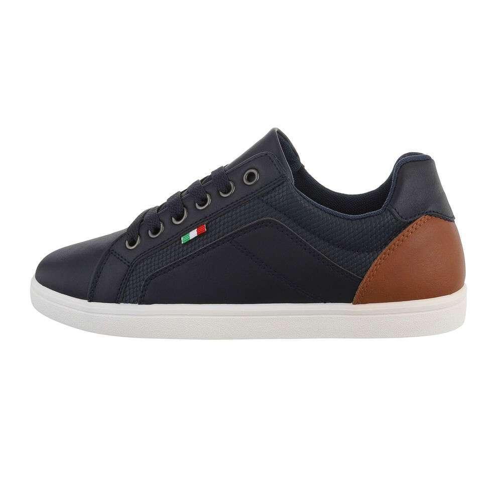 Pantofi casual pentru bărbați - bleumarin