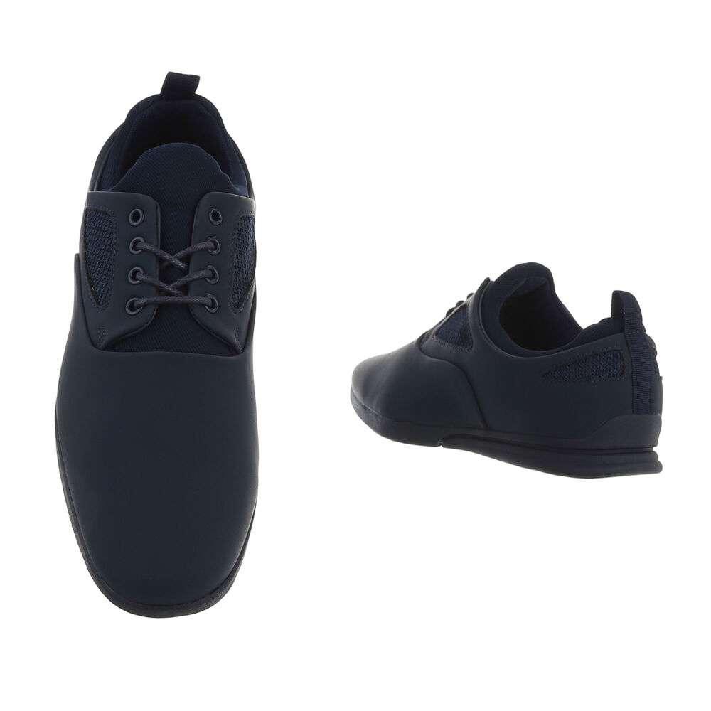 Pantofi casual pentru bărbați - bleumarin - image 3