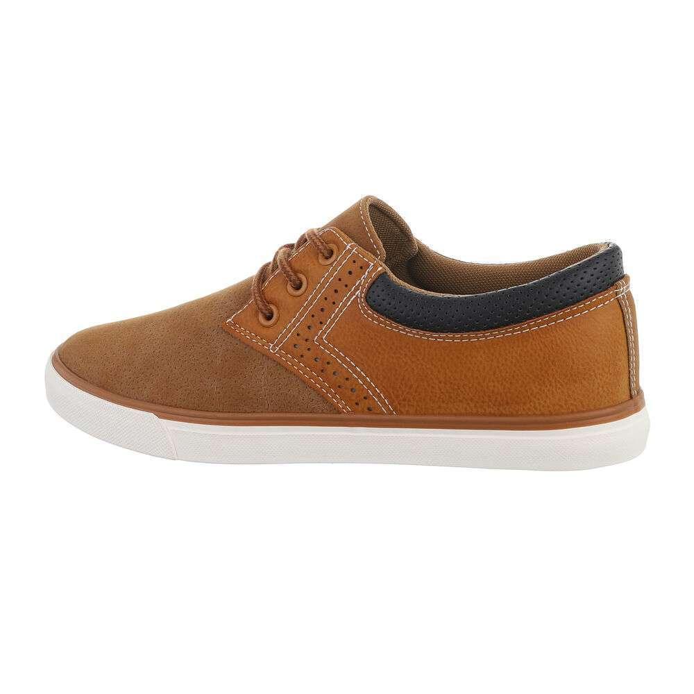 Pantofi casual pentru bărbați - cămilă - image 1