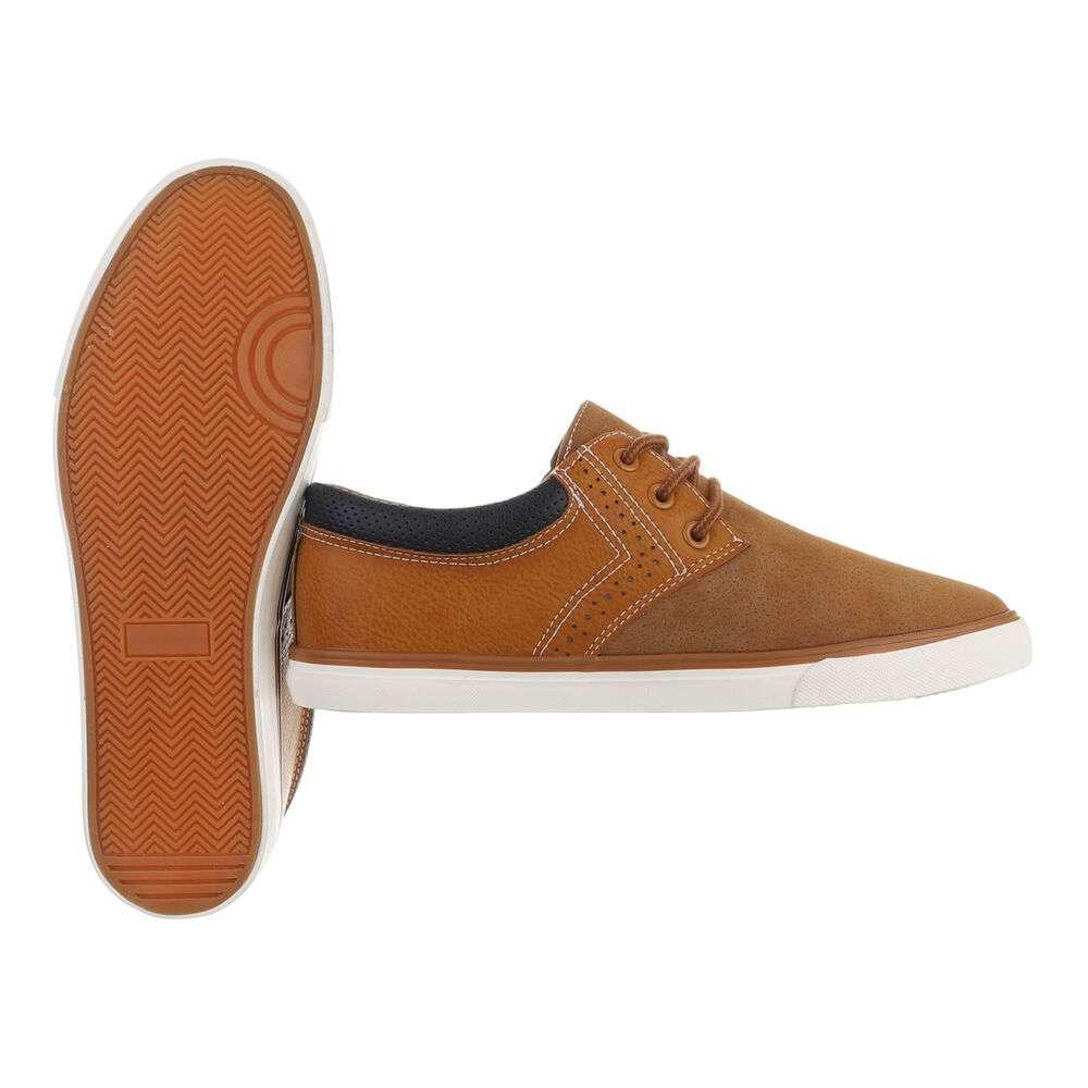 Pantofi casual pentru bărbați - cămilă - image 2
