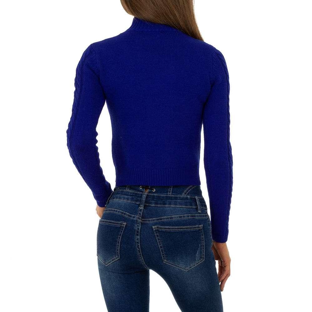 Pulover pentru femei de Shako White Icy Gr. O singură mărime - albastru - image 3