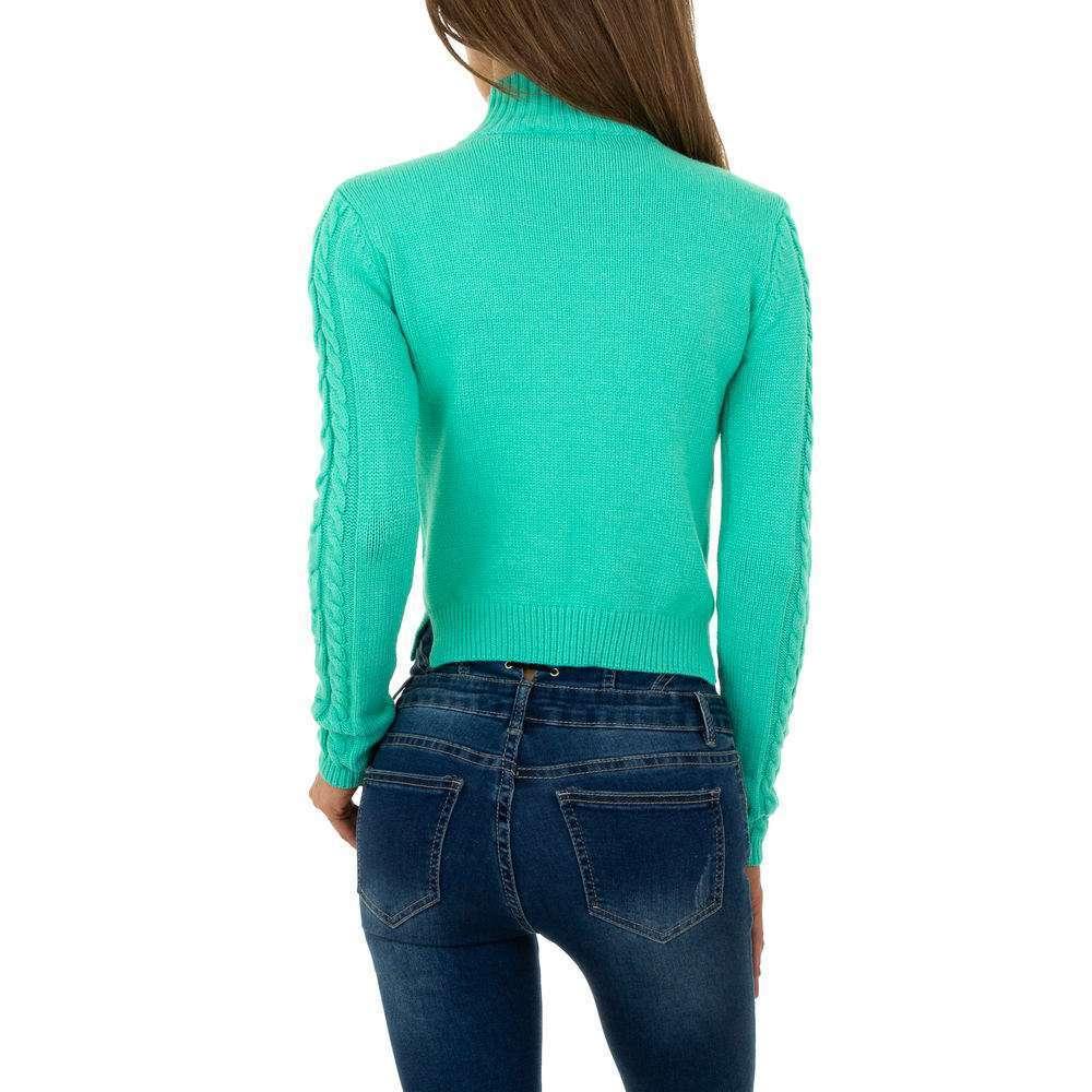 Pulover pentru femei de Shako White Icy Gr. O mărime - deschis verde - image 3