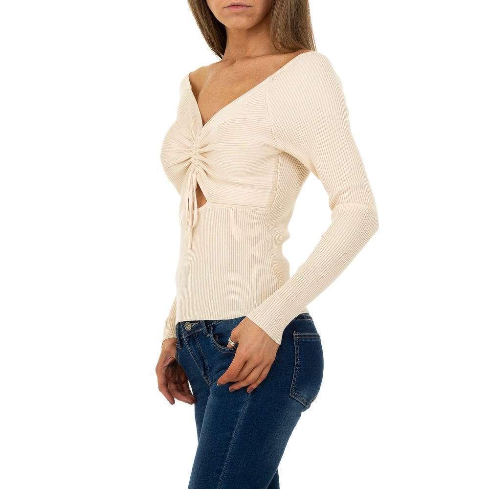 Pulover pentru femei de Shako White Icy Gr. O singură mărime - cremă - image 2