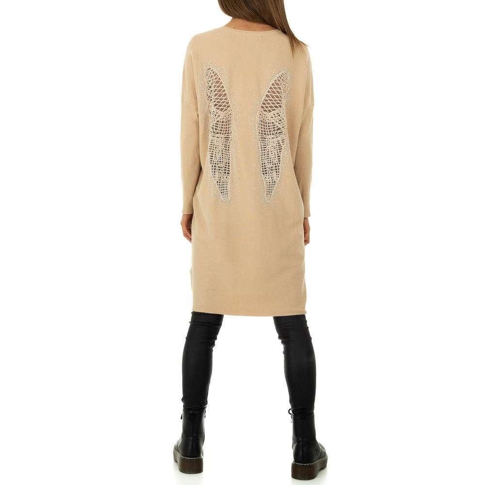 Rochie pentru femei de Voyelles Gr. O mărime - taupe
