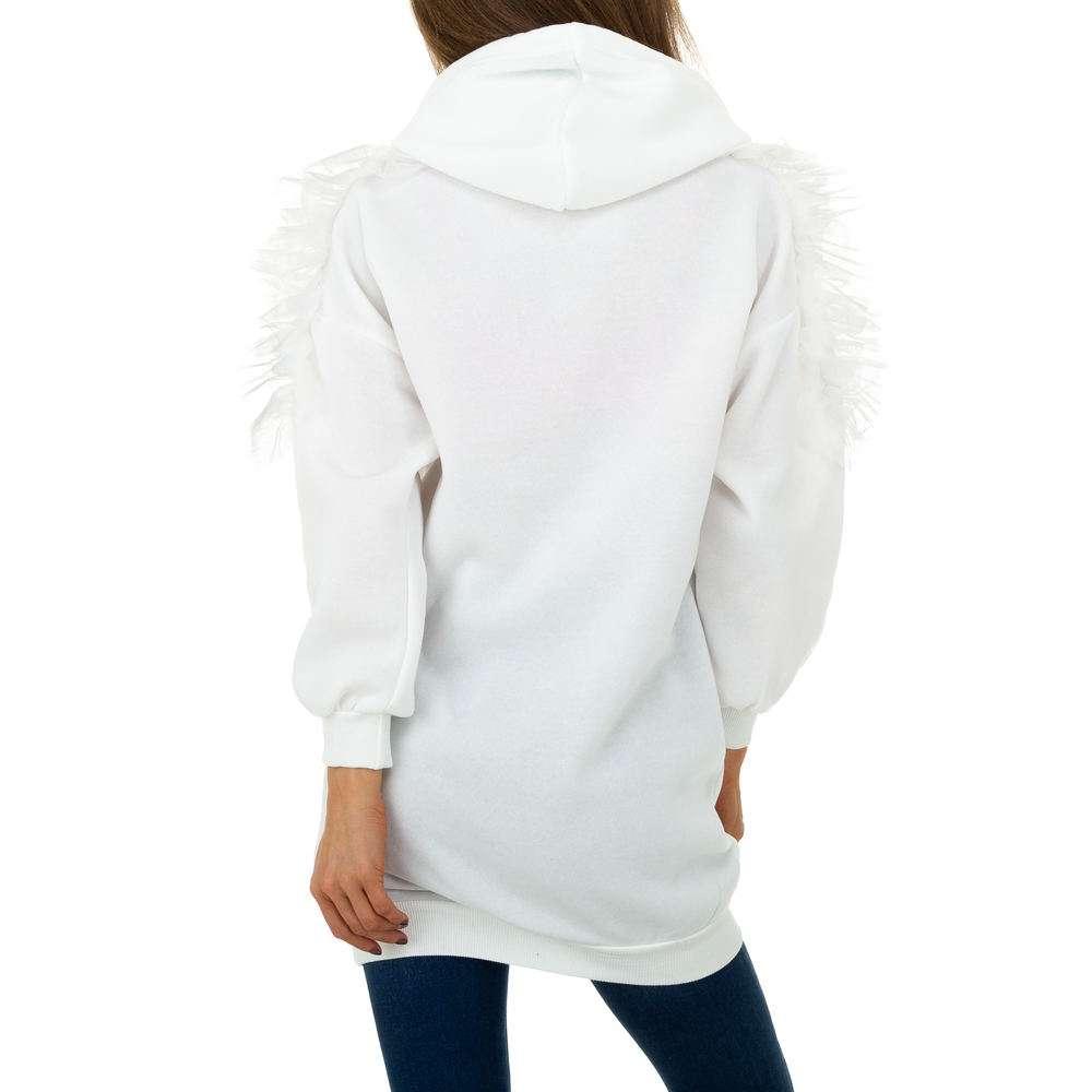 Pulover pentru femei de Shako White Icy - alb - image 3