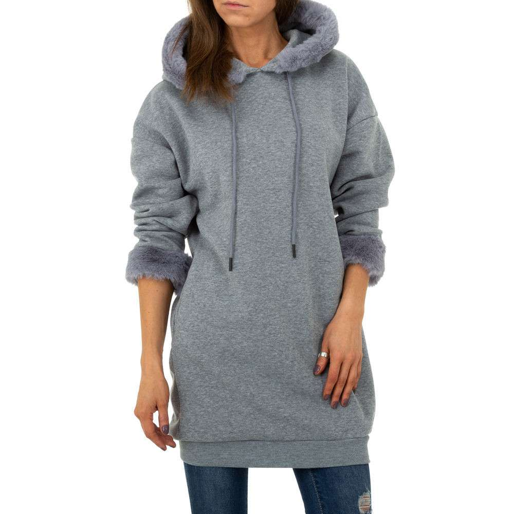 Pulover pentru femei de Shako White Icy - gri