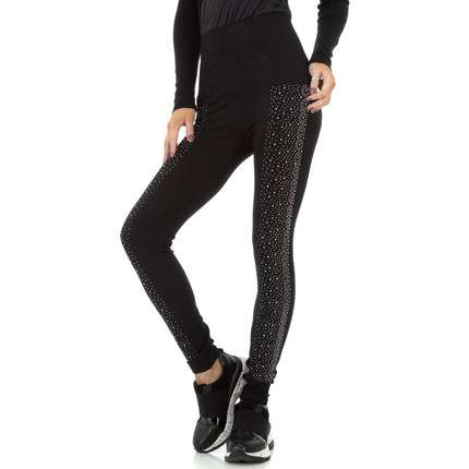 Damen Leggings von Fashion Gr. One Size - black