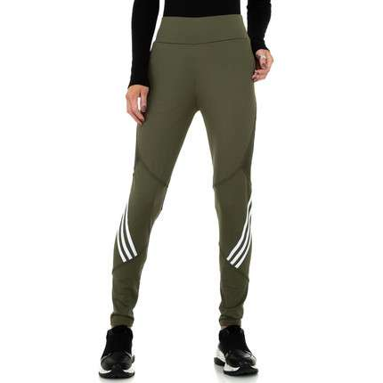 Damen Leggings von Fashion - green